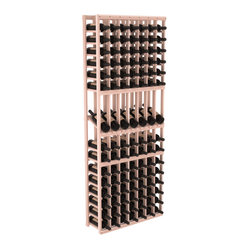 7-Column Display Row Wine Cellar Kit in Redwood
