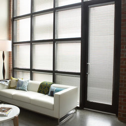 Levolor - Levolor Mark I 1-inch 8-Gauge Metal Blinds - The Mark I blind is Levolor's premier aluminum blind.  Features a large range of colors available with traditional lift cords or the safe and stylish cordless lift system.