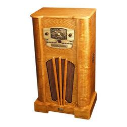 Crosley Radio - Turntable Console - AM/FM Radio