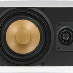 """InwallTech - M65.1W InwallTech™ 6 1/2"""" Virtually Invisible Aluminum Wall Speakers—Single - At 125 watts max power rating, you'll find it hard to run out of power! And if you do overdrive them a little at your next party/function/get-together, you'll be happy to know your investment is protected with an AUTOMATIC SHUT-OFF SWITCH. It detects when you've sent too much power for too long and shuts down until it's safe again to turn the speaker back on."""