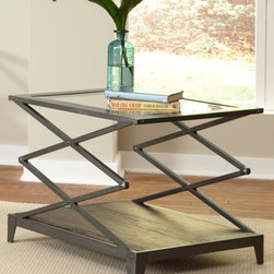 Liberty Furniture - Industrial Wire Brushed End Table -
