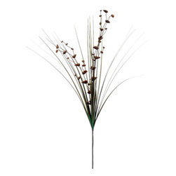 Silk Plants Direct - Silk Plants Direct Eucalyptus and Grass (Pack of 12) - Coffee - Silk Plants Direct specializes in manufacturing, design and supply of the most life-like, premium quality artificial plants, trees, flowers, arrangements, topiaries and containers for home, office and commercial use. Our Eucalyptus and Grass includes the following: