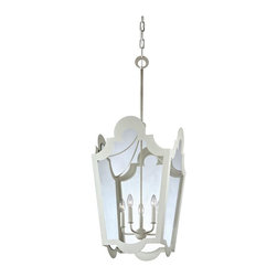"""Troy Lighting - Troy Lighting F3485 White Rhodes 5 Light Pendant with Glass Shade - Lamping Technology: Bulb Base - Candelabra (E12): The E12 (Edison 12mm), Candelabra Edison Screw (CES), """"Candelabra"""" is a term for the small-based incandescent light bulbs used in luminaires made for lighting and decoration. Compatible Bulb Types: Nearly all bulb types can be found for the E12 Candelabra Base, options include Incandescent, Fluorescent, LED, Halogen, and Xenon / Krypton."""