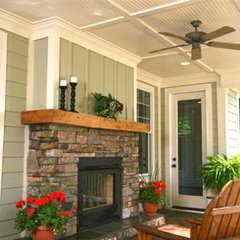 traditional porch by E.S. Johnson Builders, LLC