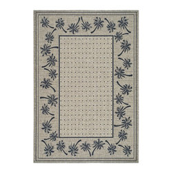 Safavieh - Safavieh Courtyard Cy5148H Coffee / Black Area Rug - Traditional patterns and classic beauty are found in the area rugs of the Courtyard collection. Made in Belgium of enhanced polypropylene, these rugs are extremely durable and perfect for indoor or outdoor use. The area rugs of the Safavieh Courtyard collection offer highly detailed and sophisticated designs created through an unusual sisal weave. Select the colors, design, and style that will compliment any room in your home in round, rectangular or runner rugs.