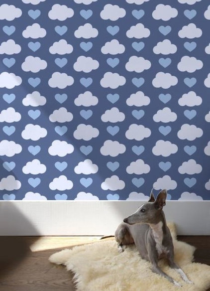 contemporary wallpaper by Wall-Library