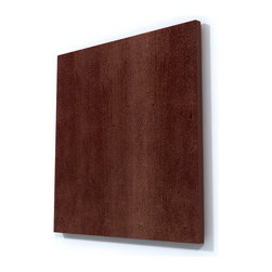 Mocca Maple Wood Wall Art - Beautiful Mocca Maple Wood Wall Art perfect for any contemporary or modern space.