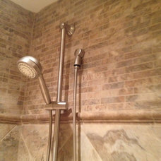 Traditional Showers by Total Quality Home Builders, Inc.
