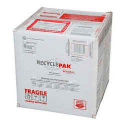 VEOLIA ENVIRONMENTAL SERVICES - Medium Cfl Recycling Kit - UN rated, DOT approved recycling container, 6 mil poly liner, liner tie, instructions, terms and conditions, prepaid return shipping, label with map and return stickers, proof of purchase with serial number, online certificate of recycling. Capacity: 150 spiral, 525 two pin, 265 4 pin CFLs / 125 incandescents / misc spots and floods. - Manufacturer: Veolia Environmental Services