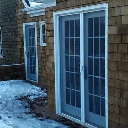 New Addition- Mirage Retractable Door Screens On Deck -