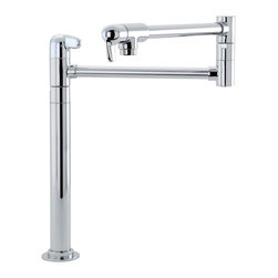 Pot Filler Faucet - Hansgrohe-04060000 Allegro E Deck Mount Pot Filler in Chrome