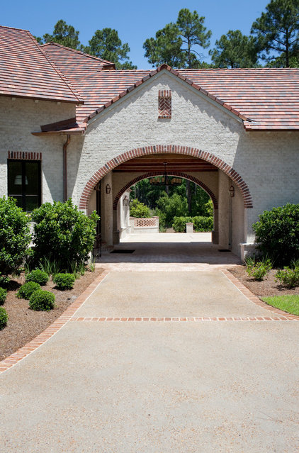 Traditional Exterior by Thomas Thaddeus Truett Architect