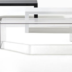 Kartell - Kartell | Invisible Coffee Table, Rectangle - Design by Tokujin Yoshioka.