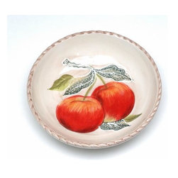 ATD - 4 Inch Red Apple Design White Dip Dish Collectible Saucer Plate - This gorgeous 4 Inch Red Apple Design White Dip Dish Collectible Saucer Plate has the finest details and highest quality you will find anywhere! 4 Inch Red Apple Design White Dip Dish Collectible Saucer Plate is truly remarkable.