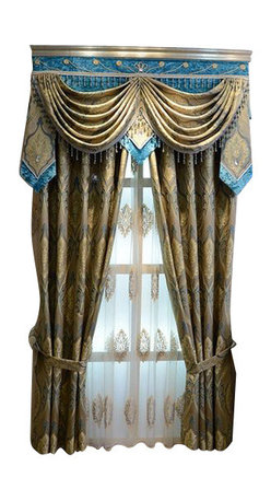 Ulinkly.com - Luxury window curtain - Aegean Sea - Ulinkly is for affordable custom-made luxurious window curtains. We partner exclusively with top premium factories(top 1-2 sellers in international market) selling high-end custom-made curtains with top quality and hundreds high-end styles (Drapery, Voile and Valance) selection in North America.