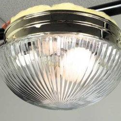 NATIONAL BRAND ALTERNATIVE - Mushroom Design Ceiling Fixture 2-Bulb - Features: