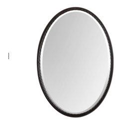 Oval Oil Rubbed Bronze Mirror - Oval Oil Rubbed Bronze Mirror