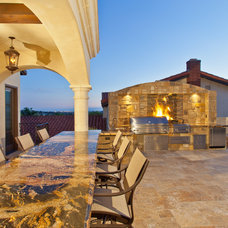 Mediterranean Outdoor Grills by Distinguished Pools