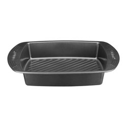 "Cuisinart - Cuisinart 17"" x 12"" Non-Stick Roaster - Heavy steel construction allows quick and even heating for optimal performance"