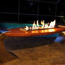 Modern Fire Pits by Urban Concepts Modern Fireplace Design