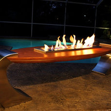 modern firepits by Urban Concepts Modern Fireplace Design