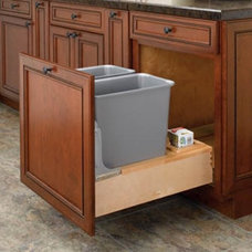 Contemporary Kitchen Trash Cans by Hayneedle