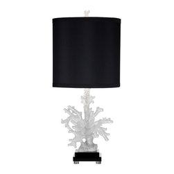 Bassett Mirror - Bassett Mirror Winder Table lamp L2729TEC - Bassett Mirror Winder Table lamp L2729TEC