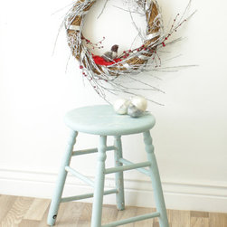 Marc's Drab To Fab DIY Projects - Marc's DIY Birds & Berries Christmas Wreath