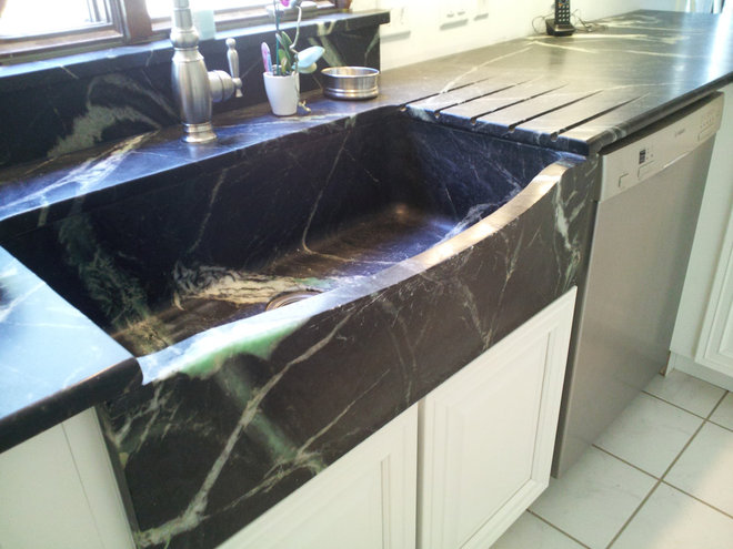 Soapstone Sink : Kitchen Sinks: Soapstone for Germ-Free Beauty and Durability