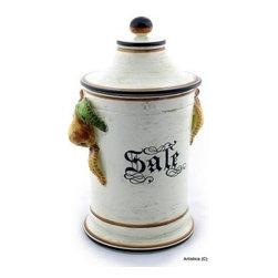 Artistica - Hand Made in Italy - Jlenia Frutta: Canister 'Sale' (Lg) - Jlenia Frutta: