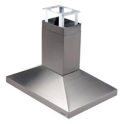"""Broan - Elite 637004EX 40"""" Provisa Island Chimney Hood with Optional External Blower  He - The perfect choice for the household where cooking is the center of attention The sleek free-hanging design of the 63000 highlights a stylish focal point over any island or peninsula cook top"""