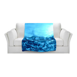 DiaNoche Designs - Fleece Throw Blanket by Julia Di Sano - Into the Eye Pink Turquoise - Original Artwork printed to an ultra soft fleece Blanket for a unique look and feel of your living room couch or bedroom space.  DiaNoche Designs uses images from artists all over the world to create Illuminated art, Canvas Art, Sheets, Pillows, Duvets, Blankets and many other items that you can print to.  Every purchase supports an artist!