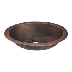 MR Direct - MR Direct 950 Bronze Bathroom Sink - Bronze is the new black in bathroom sinks. Elegant and understated, you'll love the beautifully aged patina and even more, it's easy to care for.