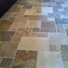 Eclectic Flooring Tumbled Travertine