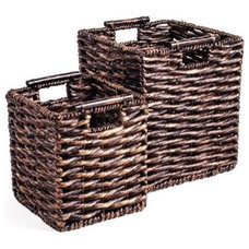 modern baskets by Hayneedle