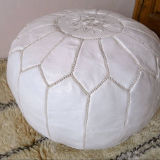 Eclectic Floor Pillows And Poufs by Etsy