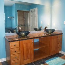Contemporary Bathroom Vanities And Sink Consoles by Aurora Wood Works Ltd