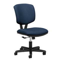 Hon - Volt H5701 Task Chair - Keep your office ship-shape with this task chair. Its rolling casters and tilting motion mean you can easily ride the waves of business that keep coming at you. And its padded seat and back are covered in navy fabric made for smooth sailing.