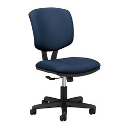 Hon - Volt H5701 Task Chair-Navy - Keep your office ship-shape with this task chair. Its rolling casters and tilting motion mean you can easily ride the waves of business that keep coming at you. And its padded seat and back are covered in navy fabric made for smooth sailing.