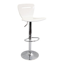 H2 Bar Stool White