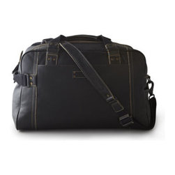 Andrew Marc - Andrew Marc Retro Calf Weekend Duffel - Classic, comfortable styling and a soft, supple hand give this luggage collection a lived-with look and vintage appeal. Crafted of full-grain distressed leather with unique hardware and contrast stitching. Padded computer satchel and crossbody messeng...