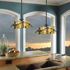 traditional kitchen lighting and cabinet lighting by Kichler