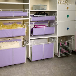Closet Accessories - Pull-out baskets.
