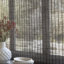 Smith & Noble Natural Woven Flat Fold Shades - Starting at $109+