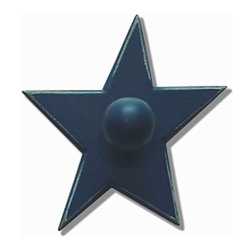 Reesa - Blue Star Wall Hook - Blue Star Wall Hook