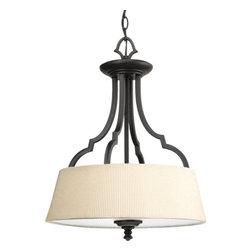 "Thomasville Lighting - Thomasville Lighting P2828-80 Meeting Street 17"" Three Light Semi-Flush Mount Ce - Features:"