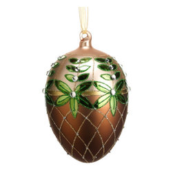Silk Plants Direct - Silk Plants Direct Glass Russian Egg Ornament (Pack of 6) - Pack of 6. Silk Plants Direct specializes in manufacturing, design and supply of the most life-like, premium quality artificial plants, trees, flowers, arrangements, topiaries and containers for home, office and commercial use. Our Glass Russian Egg Ornament includes the following: