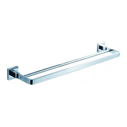 Fresca - Fresca FAC1139 Glorioso 20 Inches Double Towel Bar - Fresca FAC1139 Glorioso 20 Inches Double Towel Bar