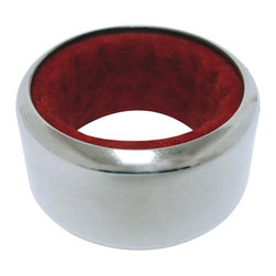 Vinotemp - Epicureanist Drip Stop Ring - Sleek design. Prevent unwanted wine drips. Felt-lined interior absorbs to protect bar or table from wine stains and spills. Made from stainless steel. Silver color. 1.63 in. Dia. x 1 in. H. WarrantyTo prevent unwanted wine drips, place the Epicureanist Drip Stop Ring at the mouth your wine bottle. As a part of the stylish selection offered by Epicureanist, this product makes a great gift for any wine lover.