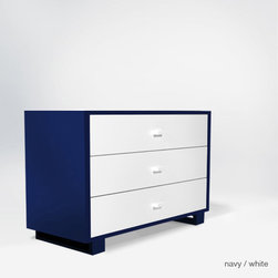 austin 3 drawer dresser - Changing table / tray optional.